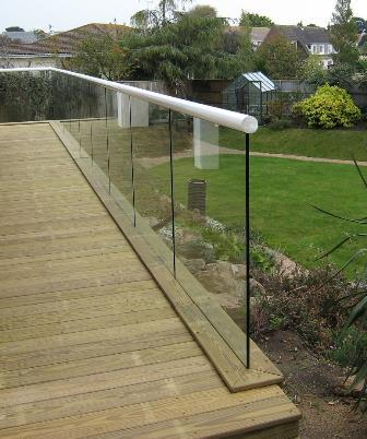 Self-Cleaning Glass Balcony