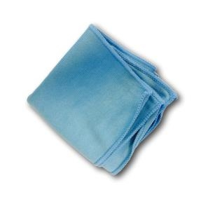 Microfibre cloth is including in the kit to clean grime deposits in the glass before coating application