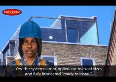 Is the Balustrade System Supplied Cut to Size video screenshot