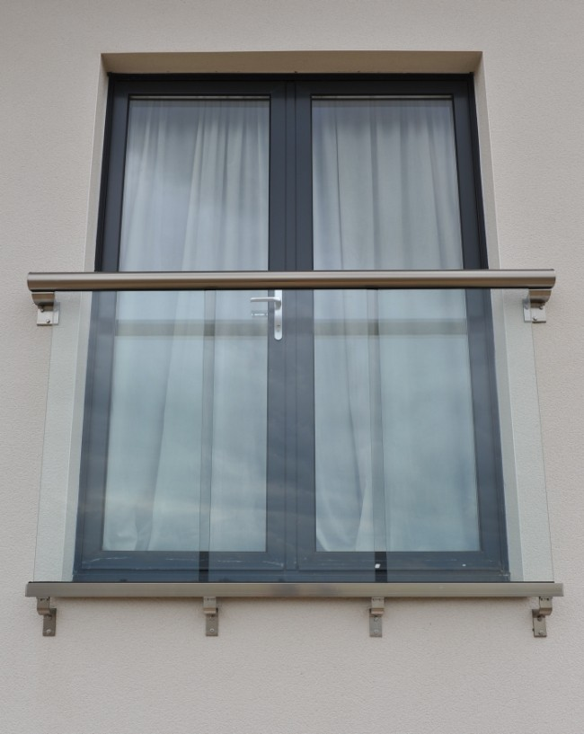 Royal Chrome Juliet Balcony
