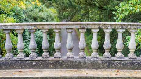 Balustrade systems choices and history balcony systems for Origin of balcony
