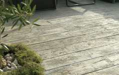 Composite decking for lodge homes