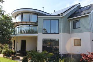 Curved Doors & Glass Balustrade