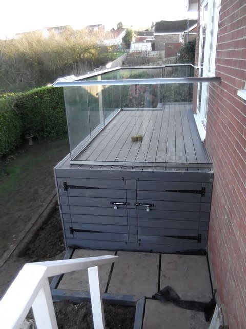 Glass Balustrade in North Yorkshire