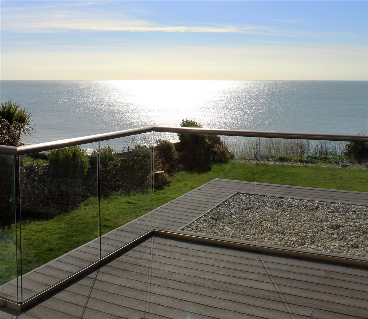 Glass Balustrade seaside