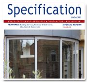 Front cover Specification Magazine
