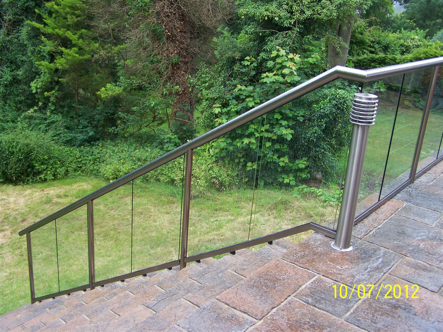 Glass Stair Railings