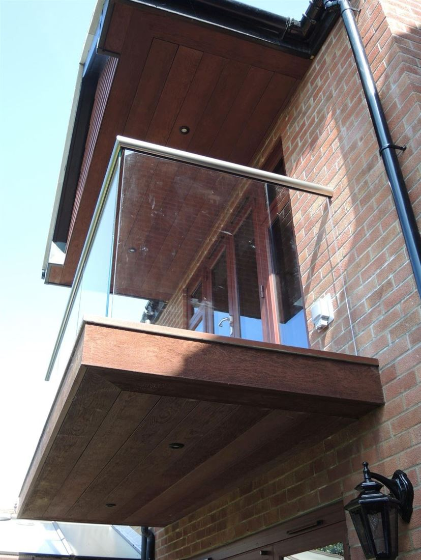 Glass Balustrades in Balcony