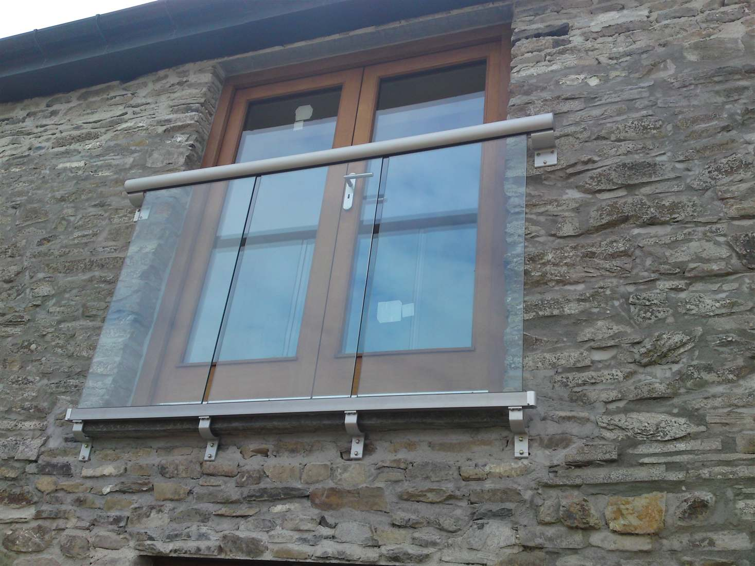 Juliette Balcony Installation on And Juliet Balcony French Doors