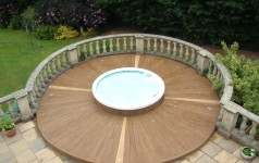 Balcony Decking composite decking