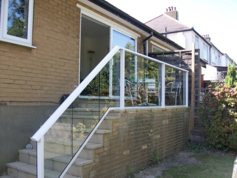 glass stair handrails 16113.4