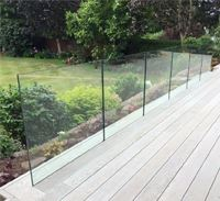 10 metres of our SG12 Frameless Glass Balustrade (fitted below floor level) installed at a Victorian property in Merseyside