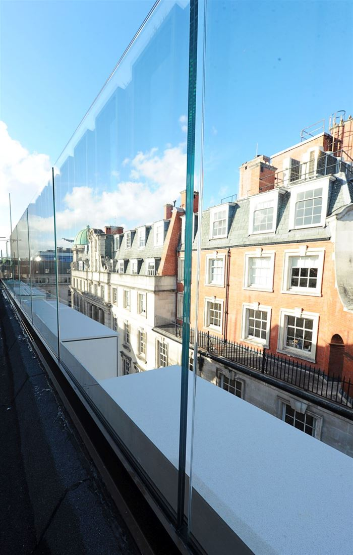 Axtell House Glass Balustrades