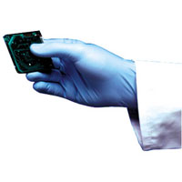 Blue Nitrile Gloves (superior resistance to chemicals)