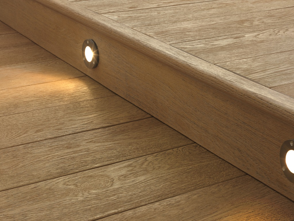 Fascia - Enhanced Grain Limed Oak