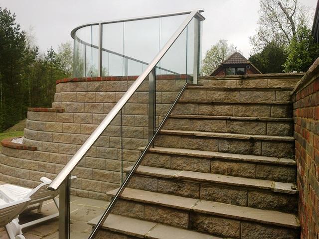 External balustrade systems