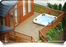 Ways to use man-made decking materials